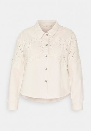 CARELENA LIFE CROCHET JACKET - Summer jacket - moonbeam