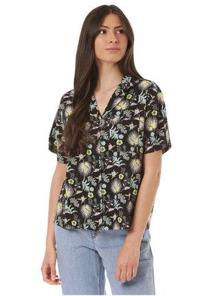 CALIFAS - Button-down blouse - black
