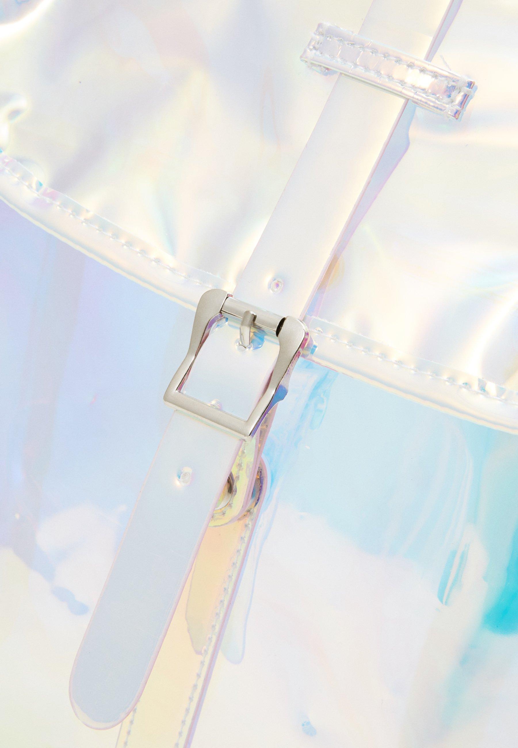 Spiral Bags TRIBECA - Ryggsekk - transparent/holographic/transparent fpPHcRN5CCcSRdO