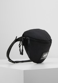 Alpha Industries - PRINT WAISTBAG - Ledvinka - black - 3