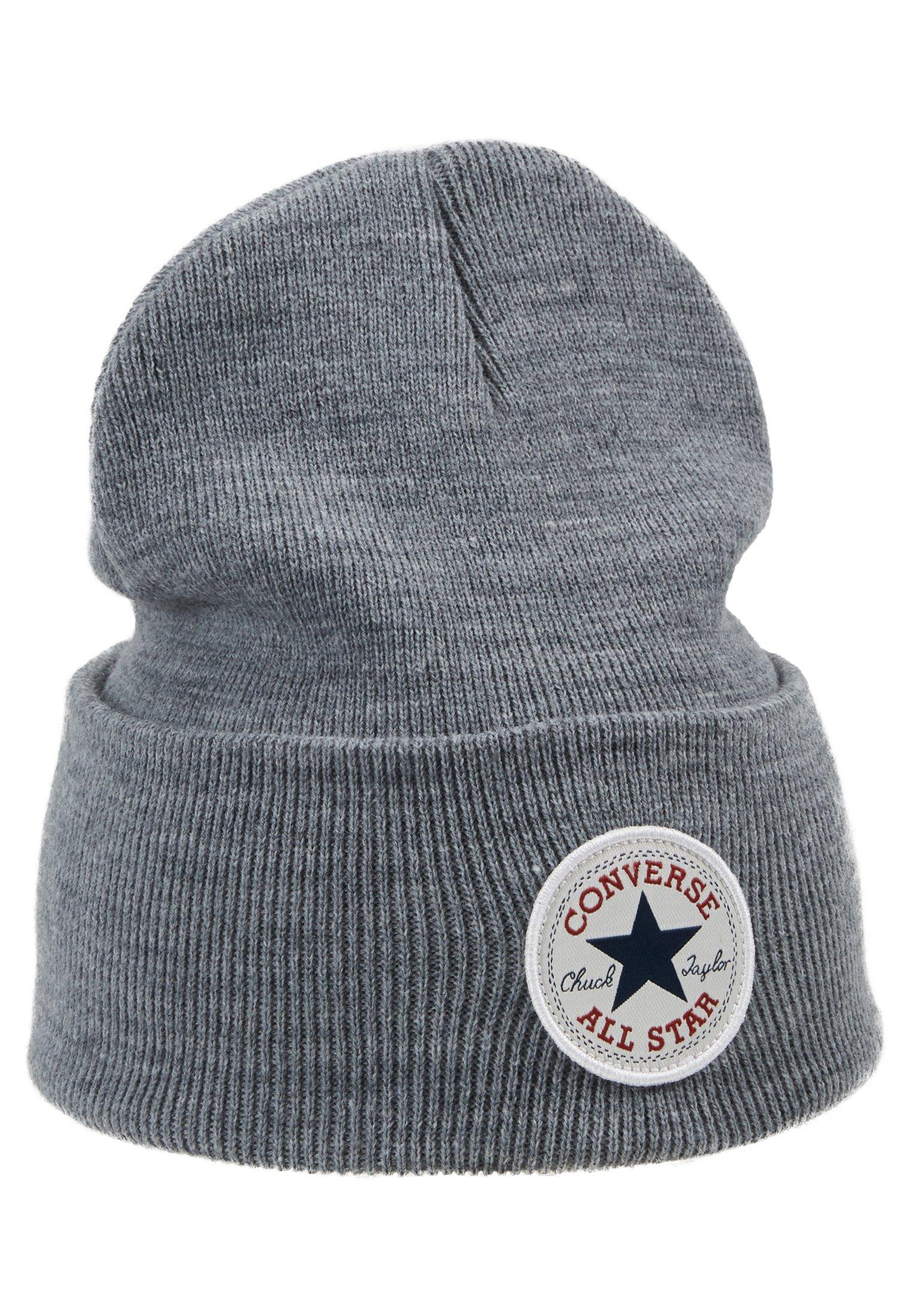 Converse Chuck Patch Tall Beanie - Mütze Vintage Grey Heathered/grau