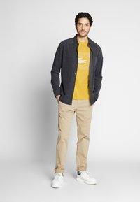 Lacoste - TH5097-00 - Print T-shirt - yellow - 1