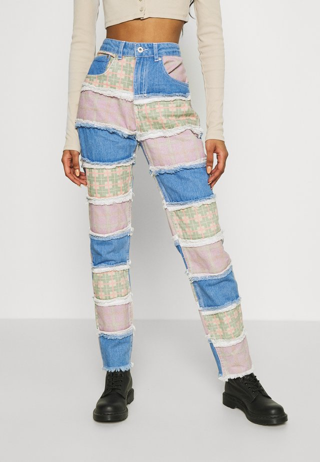 VISION  - Jeans a sigaretta - multi-coloured