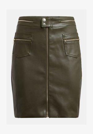 MINIROCK - Pencil skirt - grün