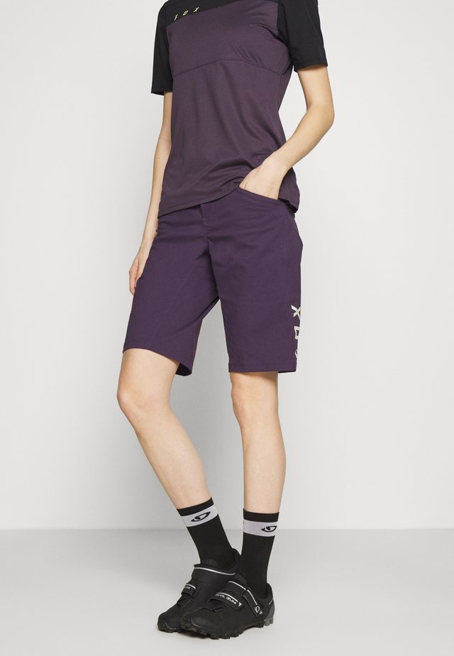 RANGER 2-IN-1 - Outdoorshorts - dark purple