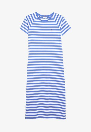 BONITA SLIM DRESS - Sukienka z dżerseju - ombre/iris blue