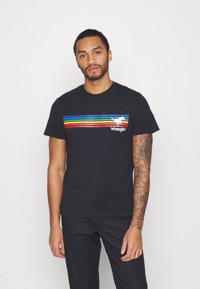 EXPLORER TEE - T-shirts med print - dark navy