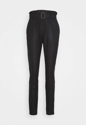 PANT BELT - Bukse - black