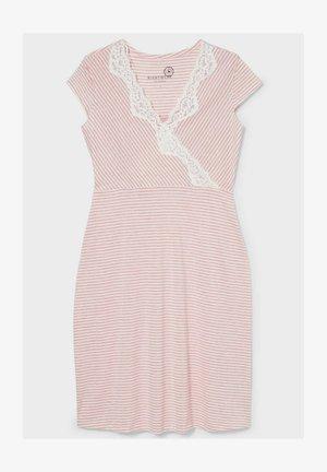 Nightie - pink/white