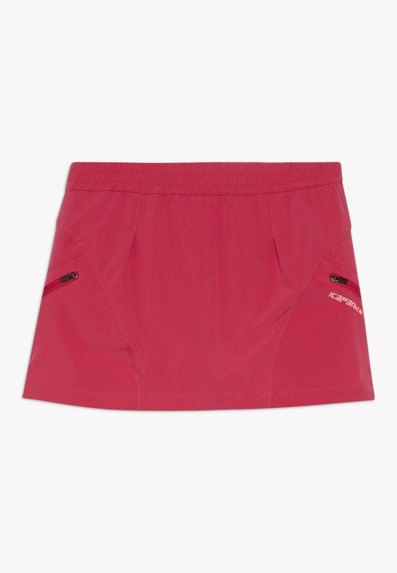 Icepeak - KITAMI - Sportovní sukně - carmine