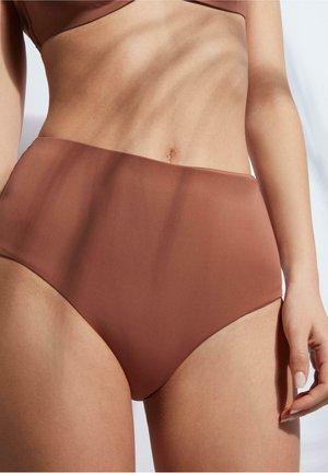MIT HOHEM BUND INDONESIA ECO - Bikini bottoms - indian brown