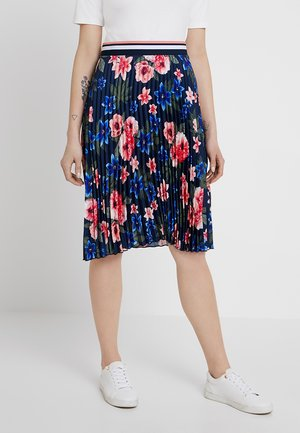 Áčková sukně - dunkelblau