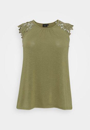 Print T-shirt - aloe