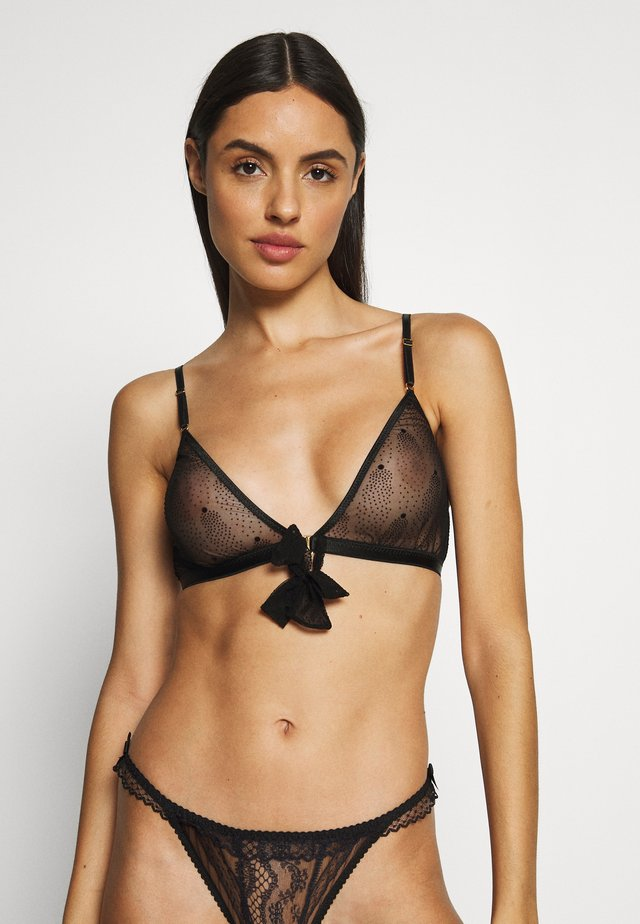 BRA ESTELLE - Triangle bra - black