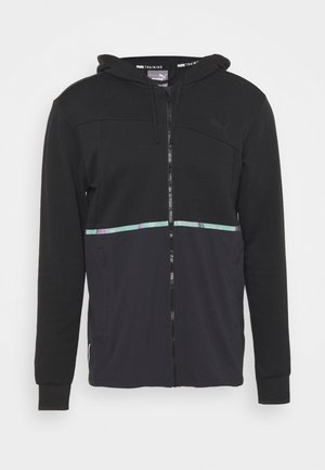 TRAIN EXCITE FULL ZIP JACKET - Träningsjacka - black