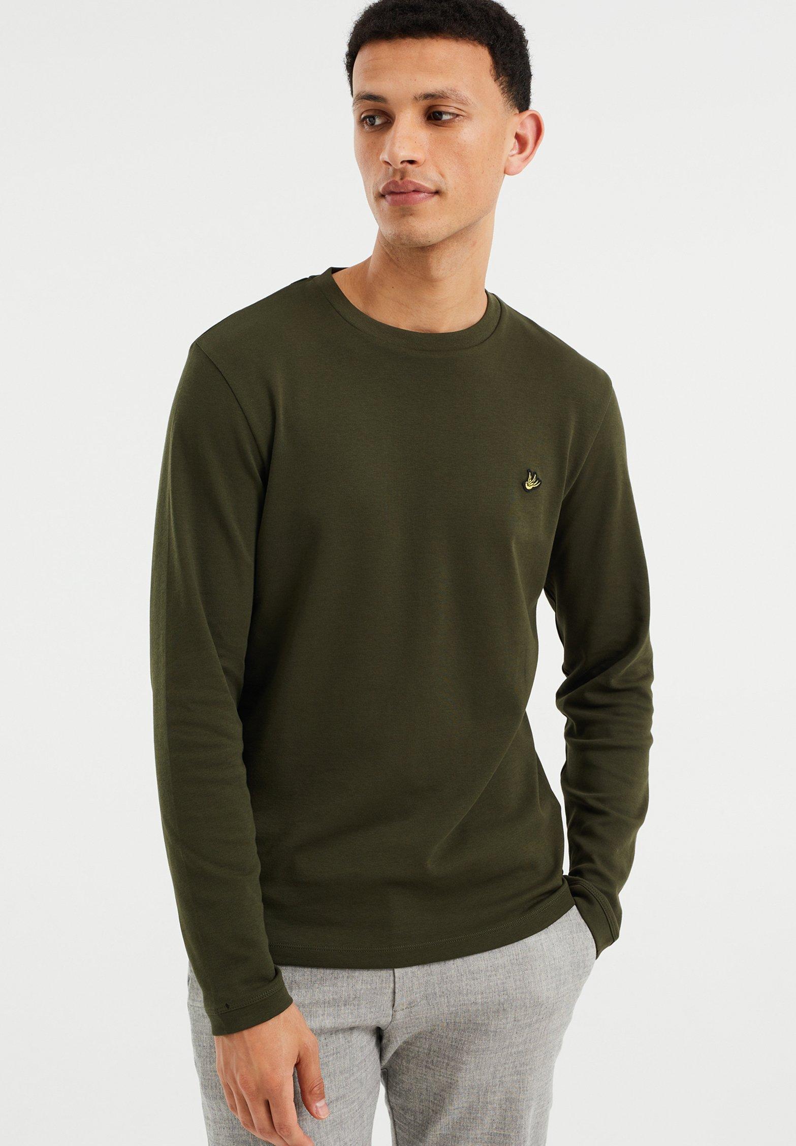 Herrer SLIM FIT  - Langærmede T-shirts