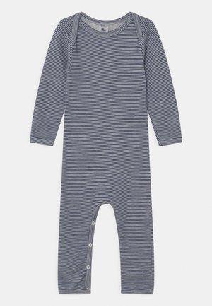 UNISEX - Pyjamas - white/dark blue
