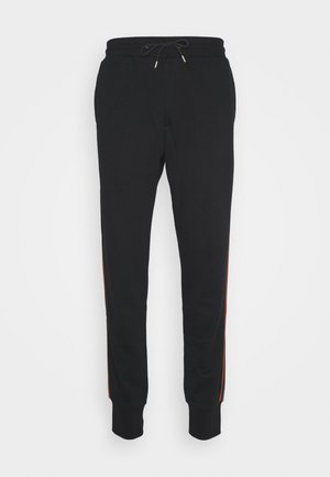 GENTS TAPED SEAM JOGGER - Tracksuit bottoms - black