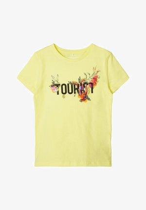 Print T-shirt - limelight