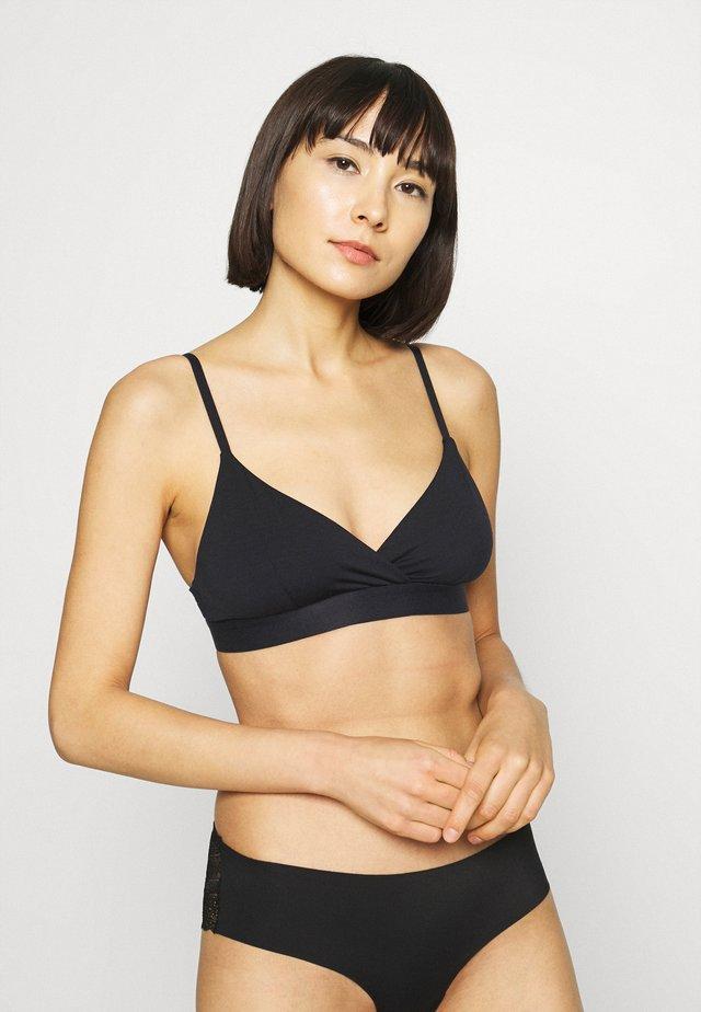 24/7 BRA - Triangle bra - black