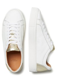 Selected Femme - SFDONNA CONTRAST - Trainers - gold - 1