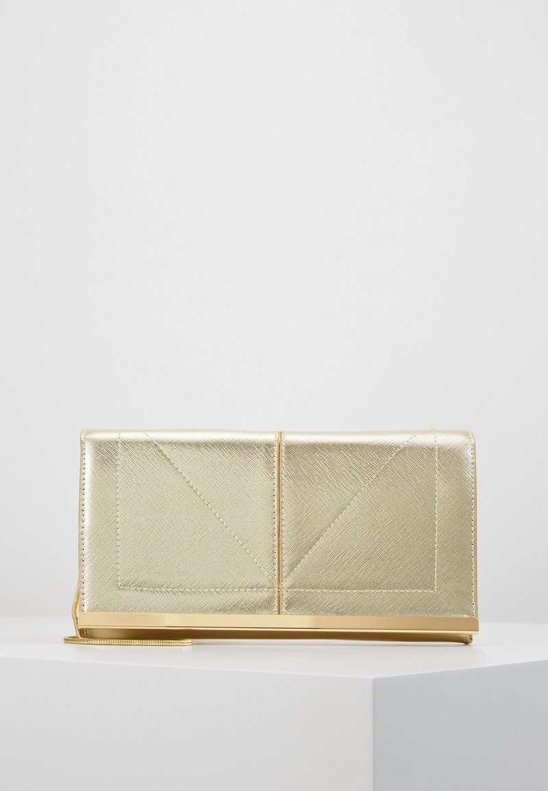 Dorothy Perkins - HALF AND BAR  - Clutch - gold