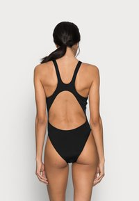 Arena - SOLID SWIM HIGH - Swimsuit - shark/black - 2