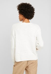 edc by Esprit - KNOTS - Strickpullover - off white - 2