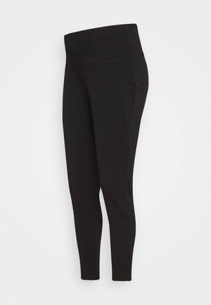 SUPER SOFT - Kalhoty - black