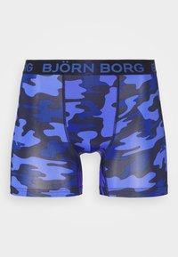 Björn Borg - TONAL CAMO SHORTS - Underkläder - peacoat - 3