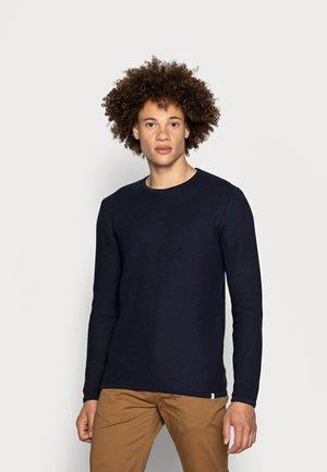 REISWOOD - Maglione - navy blazer