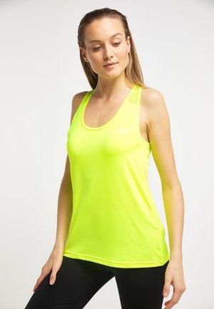 Top - jaune fluorescent