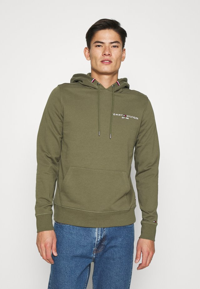 SMALL LOGO HOODY - Sweat à capuche - green