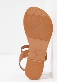 New Look Wide Fit - WIDE FIT GINA - Sandaler m/ tåsplit - tan - 6