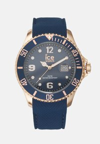 Ice Watch - Hodinky - blue/rose gold-coloured - 0