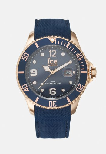 Watch - blue/rose gold-coloured