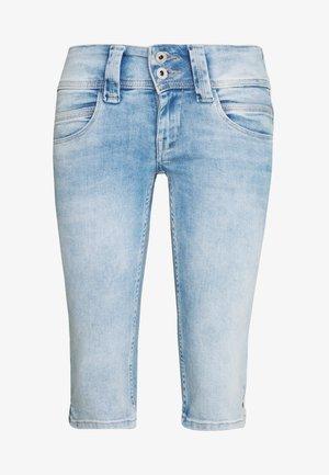 VENUS CROP - Short en jean - denim