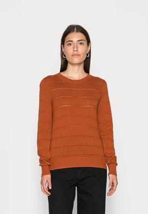 CORE SWEATER - Maglione - rust orange