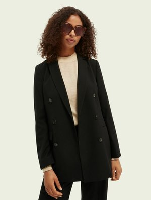 DOUBLE-BREASTED  - Blazer - black