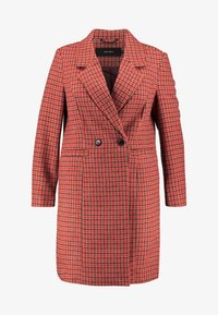 Vero Moda Curve - Classic coat - high risk red - 3