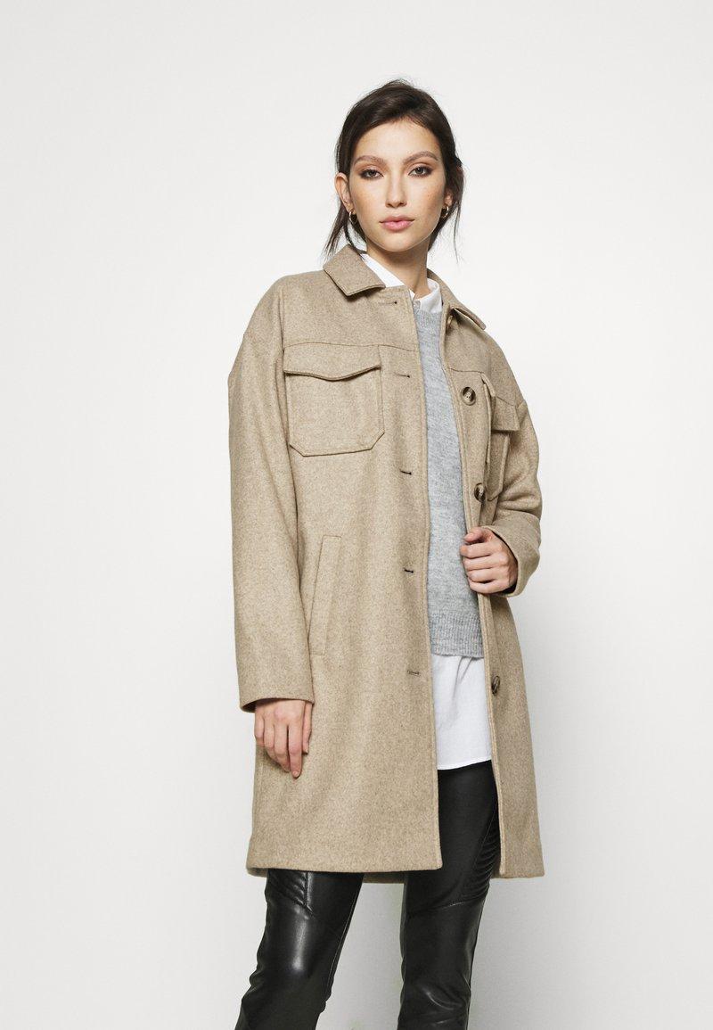 Vero Moda - VMBONUSRAY  - Classic coat - silver mink melange