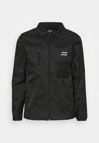 Denim Project - UTILITY - Summer jacket - black - 5