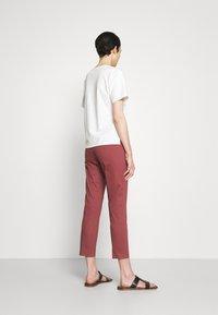 WEEKEND MaxMara - LATO - Pantalon classique - bordeaux - 2