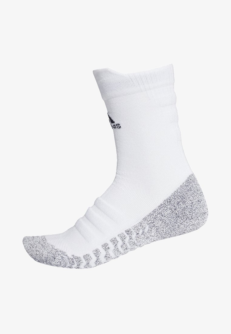 adidas Performance - ALPHASKIN TRAXION LIGHTWEIGHT CUSHIONING CREW SOCKS - Sports socks - white