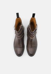 Melvin & Hamilton - SELINA - Cowboy/biker ankle boot - black - 2
