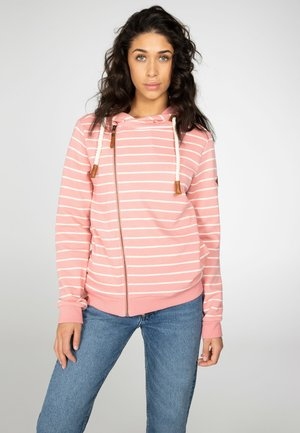 JIMBU - veste en sweat zippée - think pink