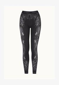 Wolford - OM - Leggings - Trousers - black/ash - 3