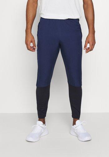 Pantalones deportivos - midnight navy/black