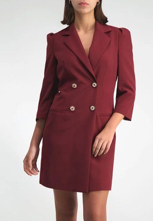 Shift dress - marsala