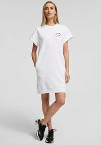 KARL LAGERFELD - Denní šaty - white - 4